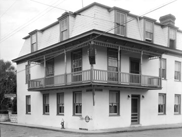 The Inn photographed in the 1930s when it was called Graham House