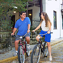 Guest Amenities 17  bikes263 St. Francis Inn St. Augustine Bed and Breakfast