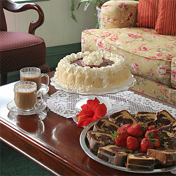 Guest Amenities 4  dessert360 St. Francis Inn St. Augustine Bed and Breakfast