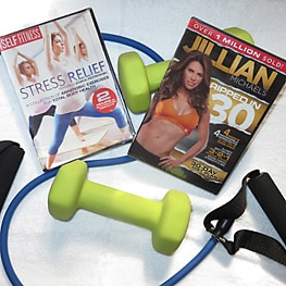 Guest Amenities 20  fitnessDVDs263 St. Francis Inn St. Augustine Bed and Breakfast