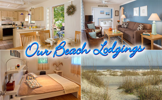 Our Lodging Properties 4 ourBeachCollage555 St. Francis Inn St. Augustine Bed and Breakfast