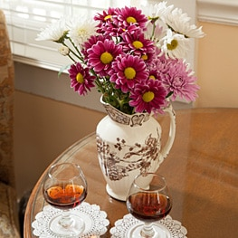 Guest Amenities 13  sherryFlowers263 St. Francis Inn St. Augustine Bed and Breakfast