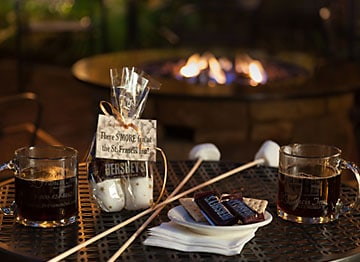 Guest Amenities 8  smores360 St. Francis Inn St. Augustine Bed and Breakfast