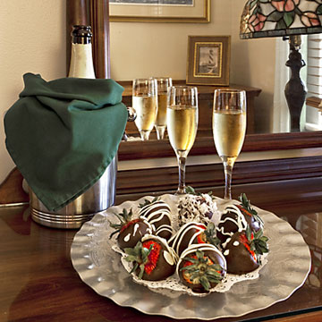 Specials & Packages 9  special chocolate 2 St. Francis Inn St. Augustine Bed and Breakfast