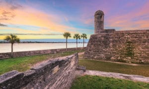 Castillo de San Marcos in Downtown St. Augustine