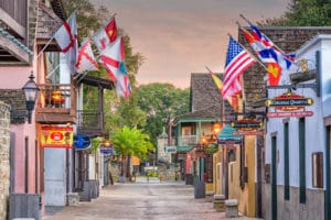 Explore the St. Augustine historic district
