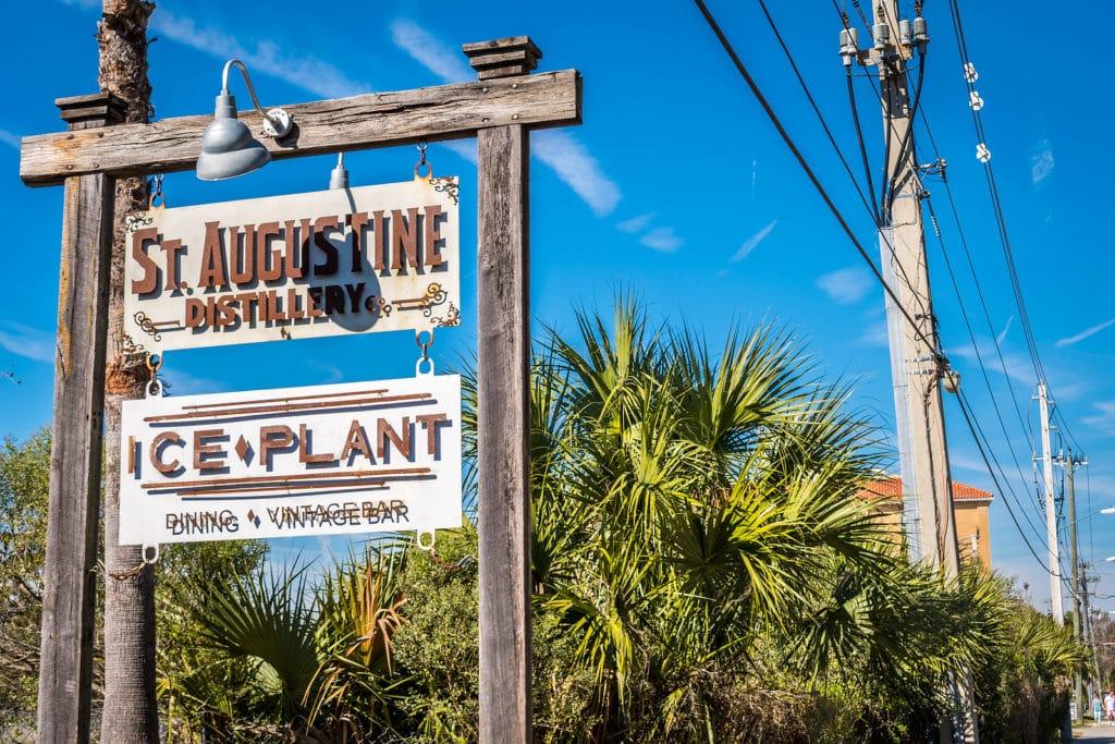 Visit the St. Augustine Distillery