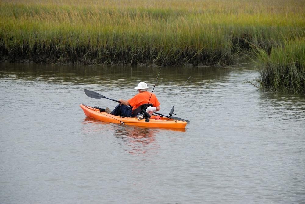 kayak in St. Augustine