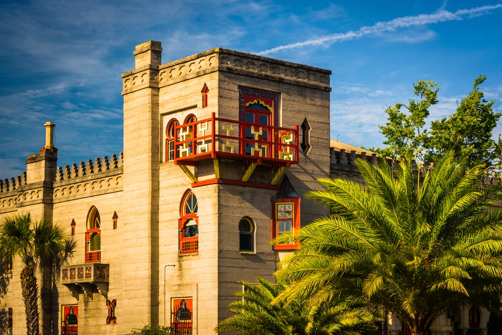One of the many museums in downtown St. Augustine
