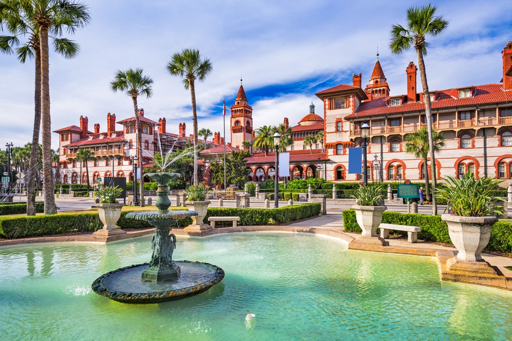 Stunning architecture in downtown St. Augustine