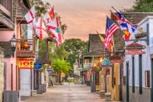 Wander the streets of downtown St. Augustine