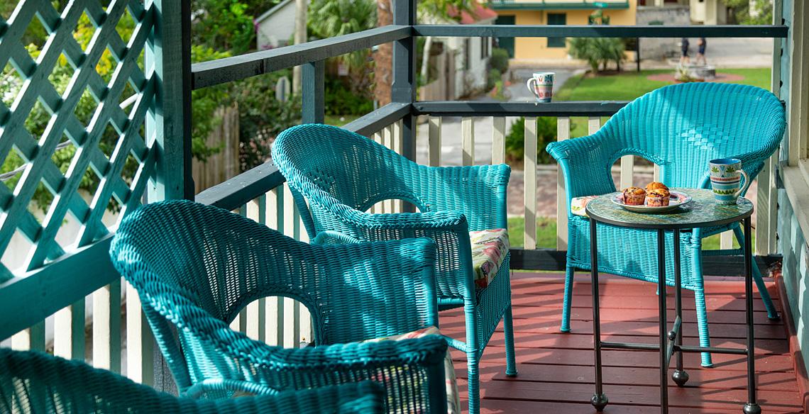 Ambrose's Retreat Porch