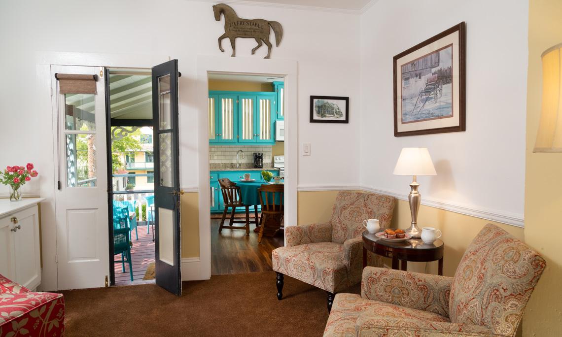 Ambrose's Retreat Living Room