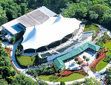 St. Augustine Amphitheater aerial view