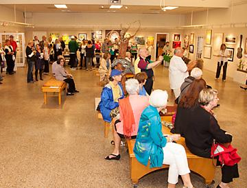 St. Augustine Art Center Gallery Show Reception