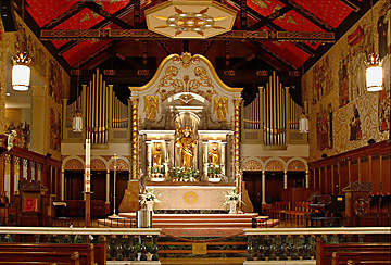 Cathedral Basilica of St. Augustine altar