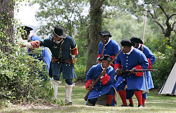 Fort Mose re-enactment