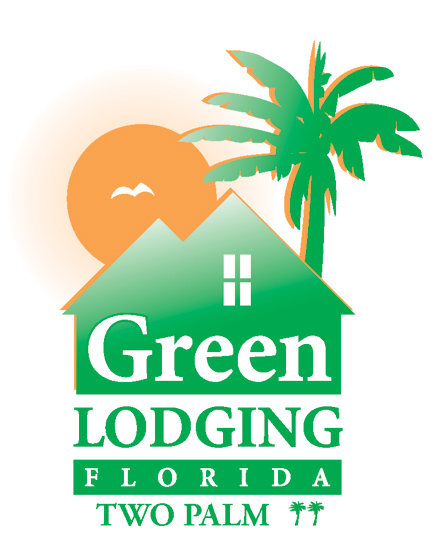 Green Lodging Florida Two Palm Award Logo