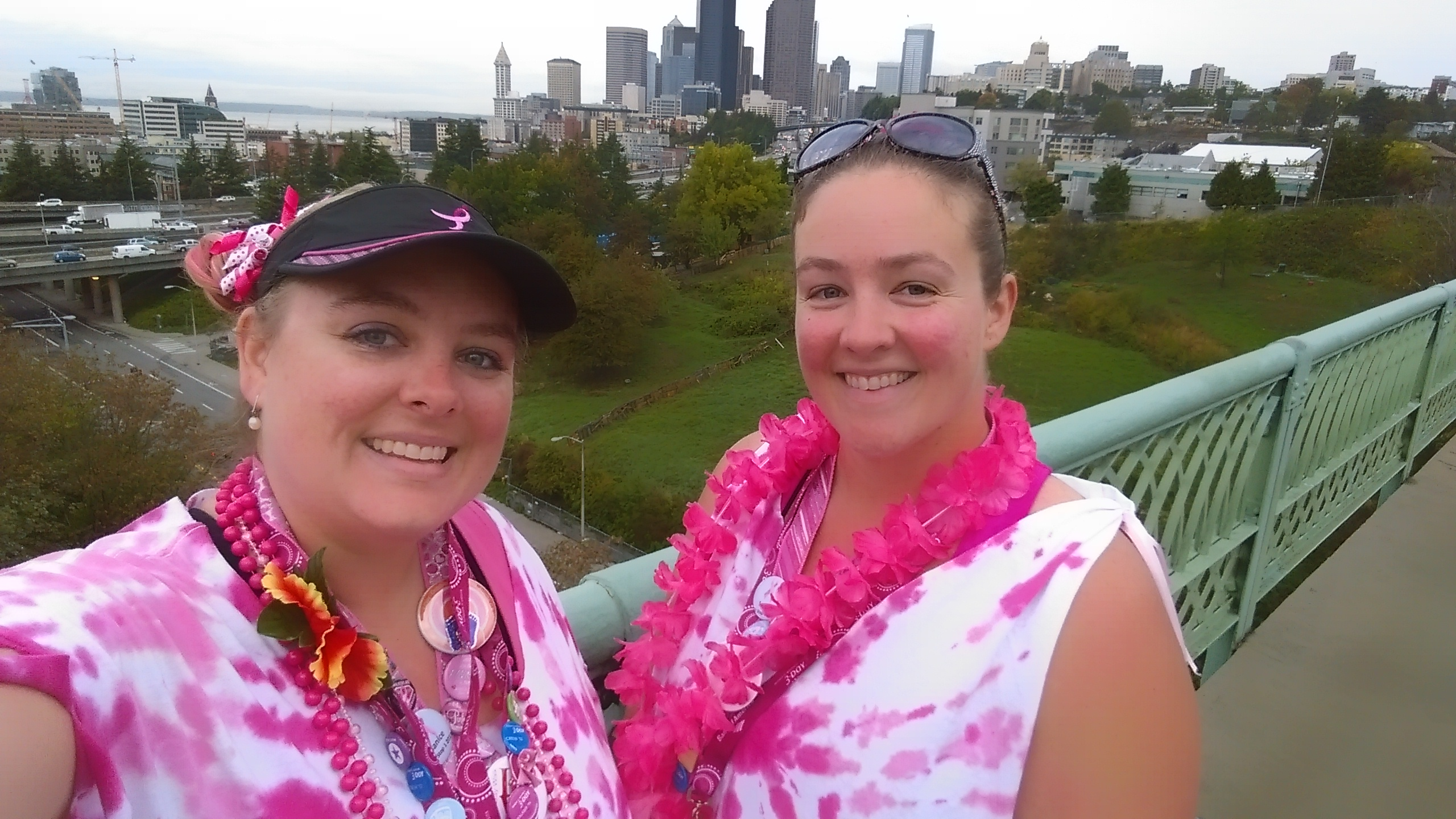 Janice walks for a cure