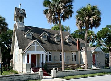 Lincolnville historic church