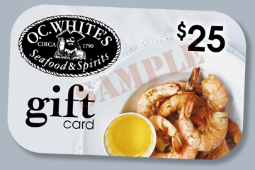 Sample OC Whites Gift Card