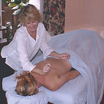 Massage in the room