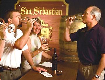 San Sebastian Winery Tasting