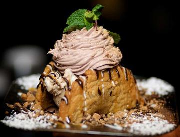Dessert at San Marco District Restaurant Raintree