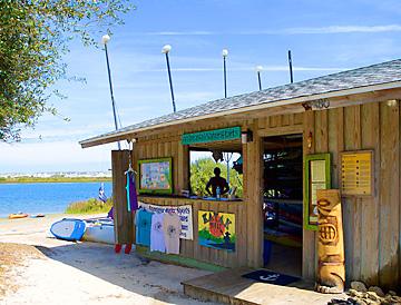 Anastasia State Park rental stand
