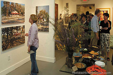Art Gallery during First Friday Art Walk