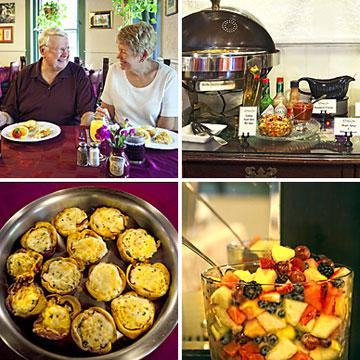 Buffet Breakfast collage