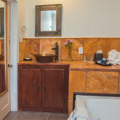 One of 2 bathrooms in The Cottage