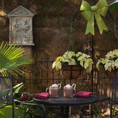 Inn Courtyard