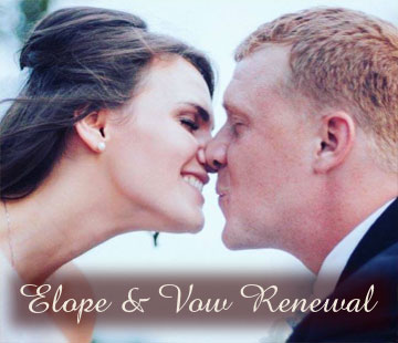 Elopement and vow renewal pacakges