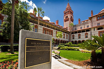 Flagler College, built as Ponce de Leon Hotel in the late 1800's by Henry Flagler