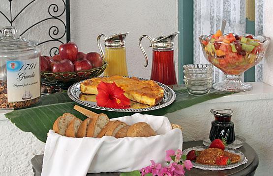 samplings from the Breakfast Buffet