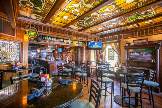 Meehan's Irish Pub and Seafood House on the historic St. Augustine bayfront