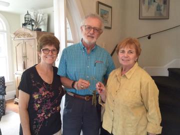 Margaret and Joe Finnegan with Kathleen Hurley
