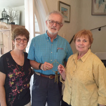 Margaret and Joe Finnegan with Kathleen Hurley