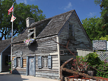 Oldest Wooden School House exterior