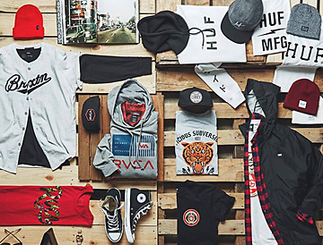 Merchandise at Outlet Stores
