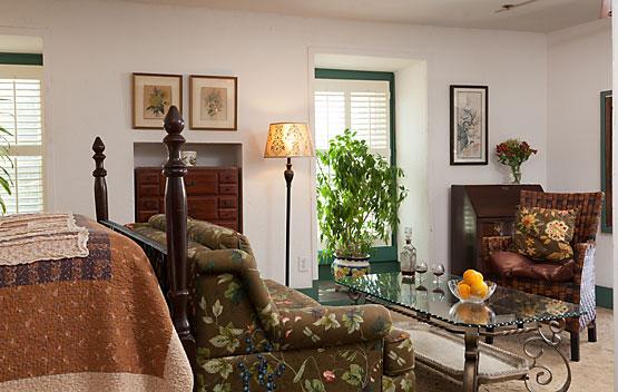 Overlook Room cozy relaxation
