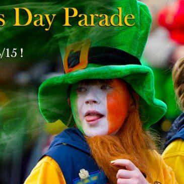 St Patrick's Parade photo banner