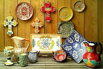 decorative colorful pottery for sale