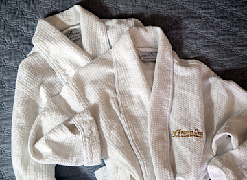 Embroidered Plush Robes