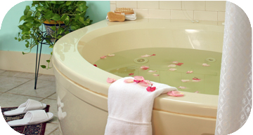 Relaxing Whirlpool Tub