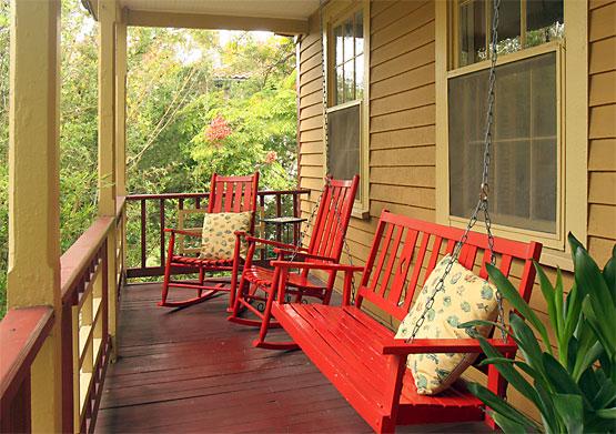 Wilson Suite porch